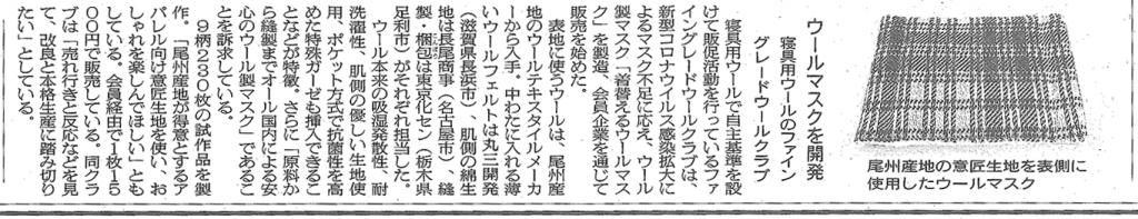 繊研新聞20200421記事
